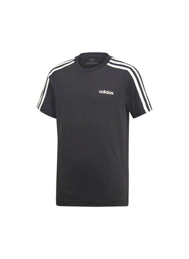 adidas Yb E 3S Tee Erkek Çocuk T-Shirt Siyah
